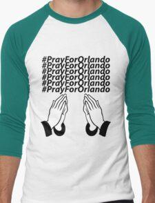 PrayForOrlando Men's Baseball ¾ T-Shirt