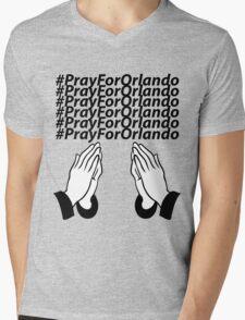 PrayForOrlando Mens V-Neck T-Shirt