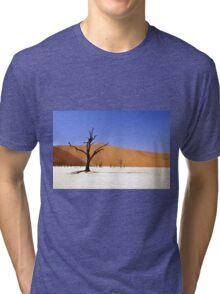 Desert Lanscape Tri-blend T-Shirt