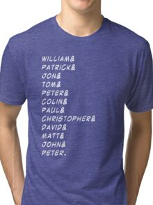 doctor&who Tri-blend T-Shirt