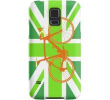 Bike Flag United Kingdom (Green) (Big - Highlight) Samsung Galaxy Case/Skin