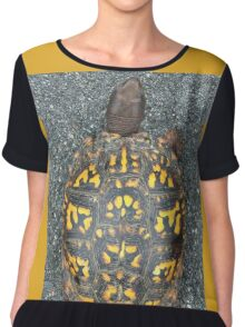 Eastern Box Turtle If you like, please purchase, try a cell phone cover thanks Chiffon Top
