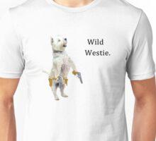 Wild Westie. Unisex T-Shirt