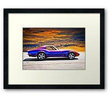 C3 Corvette Stingray II Framed Print
