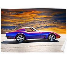 C3 Corvette Stingray II Poster