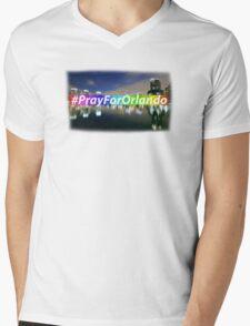 Pray For Orlando Mens V-Neck T-Shirt