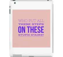 Stairs iPad Case/Skin