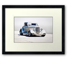 1934 Plymouth Coupe Framed Print