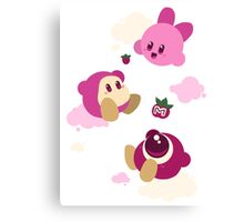 Kirby's dreamland Canvas Print
