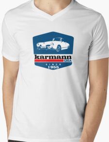 vw karmann ghia Mens V-Neck T-Shirt