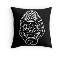 Old Gill Sees All Throw Pillow
