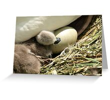 The Helping Hand. Greeting Card