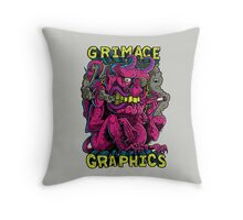 Grimace Graphics Goblin Throw Pillow