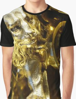 Lion of Gold Graphic T-Shirt