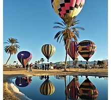 Balloon Reflections Photographic Print