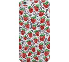 Strawberry Fields and Dashes iPhone Case/Skin