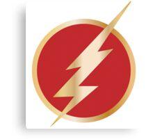 The Flash Logo 2014 Tv Show Canvas Print