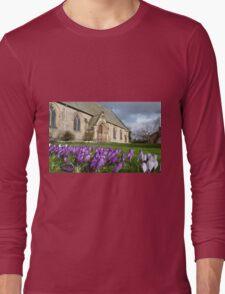 Church garden Long Sleeve T-Shirt
