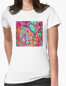 Saturday Later Purple Haze Womens Fitted T-Shirt