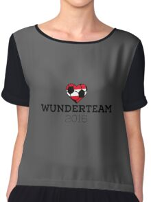 Wunderteam Austria Chiffon Top