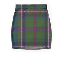 02850 Empire Golf Check Tartan  Mini Skirt