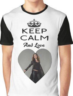 Buffy Faith Eliza Dushku Dollhouse  Graphic T-Shirt
