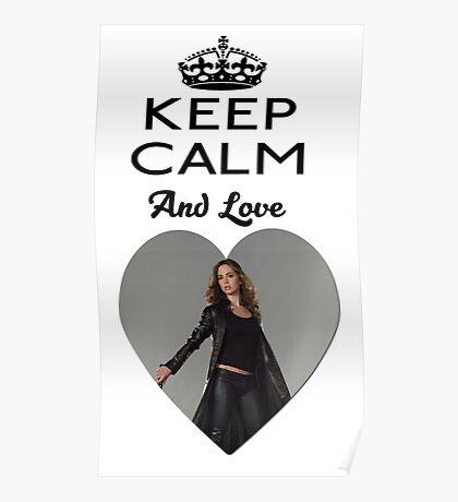 Buffy Faith Eliza Dushku Dollhouse  Poster