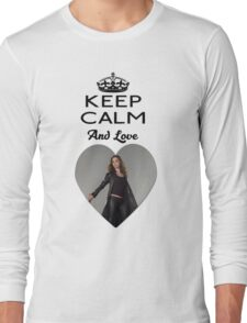 Buffy Faith Eliza Dushku Dollhouse  Long Sleeve T-Shirt