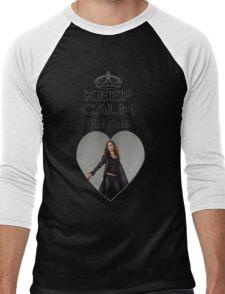 Buffy Faith Eliza Dushku Dollhouse  Men's Baseball ¾ T-Shirt