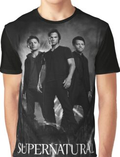 supernatural black and white Graphic T-Shirt