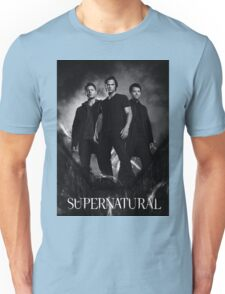 supernatural black and white Unisex T-Shirt