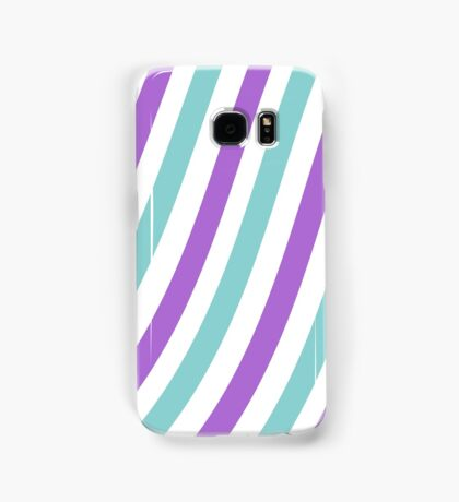 Curvy Stripes Samsung Galaxy Case/Skin