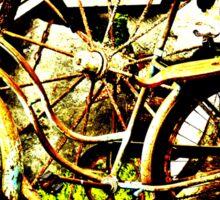 Old Bike Sticker