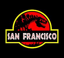 Godzilla Park - San Francisco by RichFoxStudios