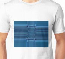 Blau Glas Unisex T-Shirt