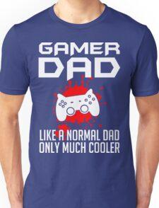 Gamer Dad Mens Funny Video Game Unisex T-Shirt