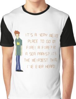 The IT Crowd – A Fire at Sea Parks?! Graphic T-Shirt