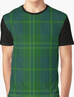 02848 The Emerald Fashion Tartan  Graphic T-Shirt