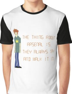 The IT Crowd – The Thing About Arsenal Graphic T-Shirt