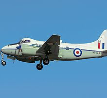 De Havilland DH104 Devon C.2 WB534/DB by Colin Smedley