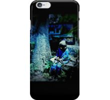 Silence in the Woodlands iPhone Case/Skin