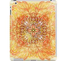 Orange mandala iPad Case/Skin