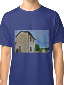 Disused Rail Building Between Moimacco and Cividale del Friuli Classic T-Shirt