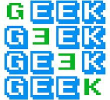 Cool Geek Muster Design by Style-O-Mat