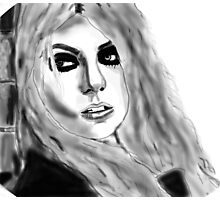 Taylor Momsen Drawing Photographic Print