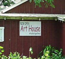 The Art House. Sticker
