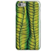 Green illusion iPhone Case/Skin