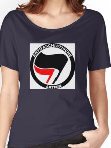 Anti-Fascist Action Women's Relaxed Fit T-Shirt