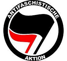 Anti-Fascist Action Photographic Print
