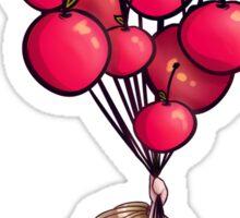 Cherry Balloons Sticker